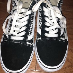 Vans Shoes - New double Checkered vans e5ae7d47f